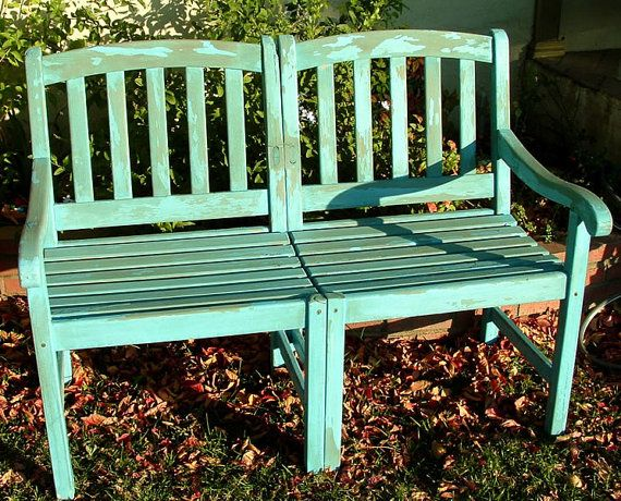 Fabulous Upcycled Vintage Wood Yard Bench By Drabtofabvintage 125 00 Upcycle Garden Vintage Patio Furniture Vintage Patio