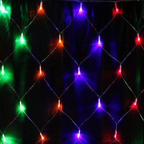 Lumières de Noël, Melojoy(TM) Guirlande lumineuse filets 120 LED