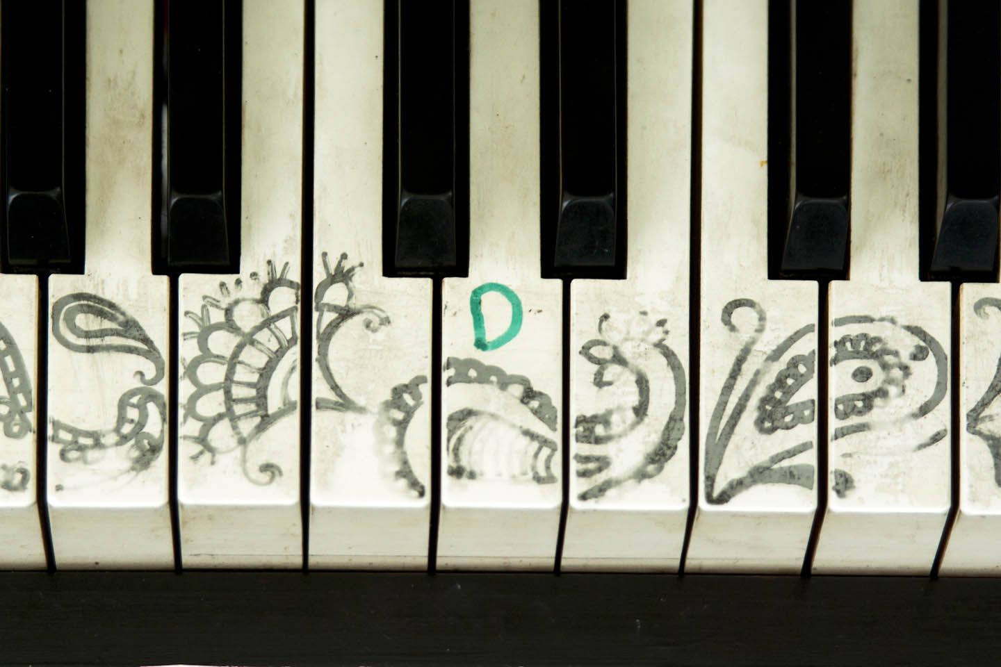 Painted Piano keys | Music and stuff | Painted pianos, Piano