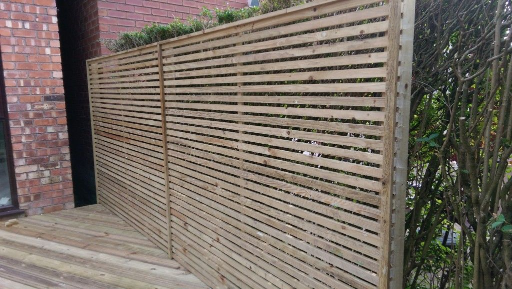 Timber Slats For Fencing Google Search Slatted Fence Panels