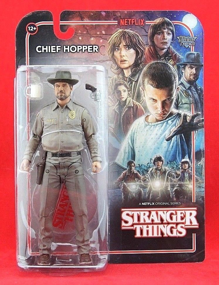 Stranger Things ~ CHIEF HOPPER ACTION FIGURE McFarlane Toys Netflix