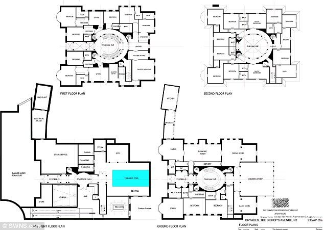 Britain S Most Expensive Repossession Is 30million Mansion Mansion Plans Floor Plans House Plans