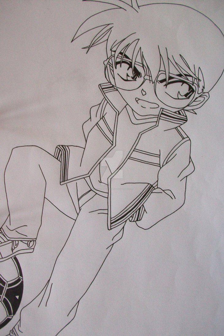 Conan Edogawa Anime Phim Hoạt Hinh Nghệ Thuật Anime