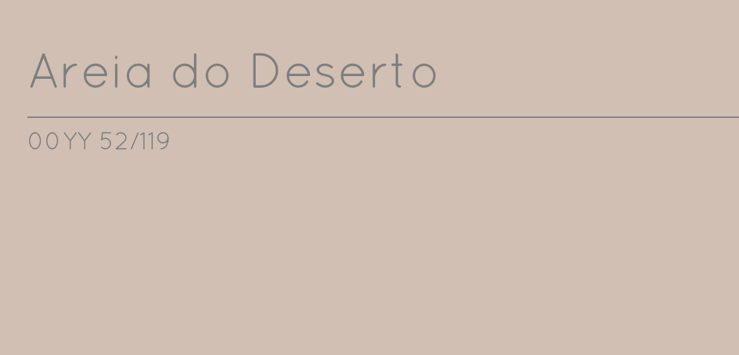 Areia do deserto - Coral