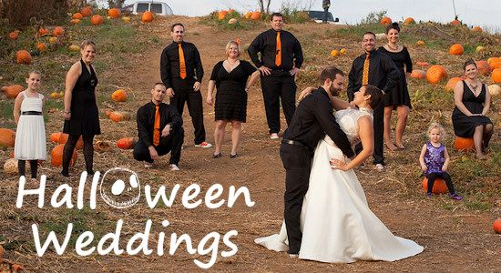If You Guys Are Getting Married In The Fall A Halloween Wedding Would Be  Cute