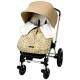 wow what a comfy warming stroller