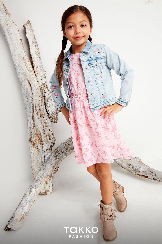 süßes rosa kleidchen für kleine mädchen   mädchenmode, mode
