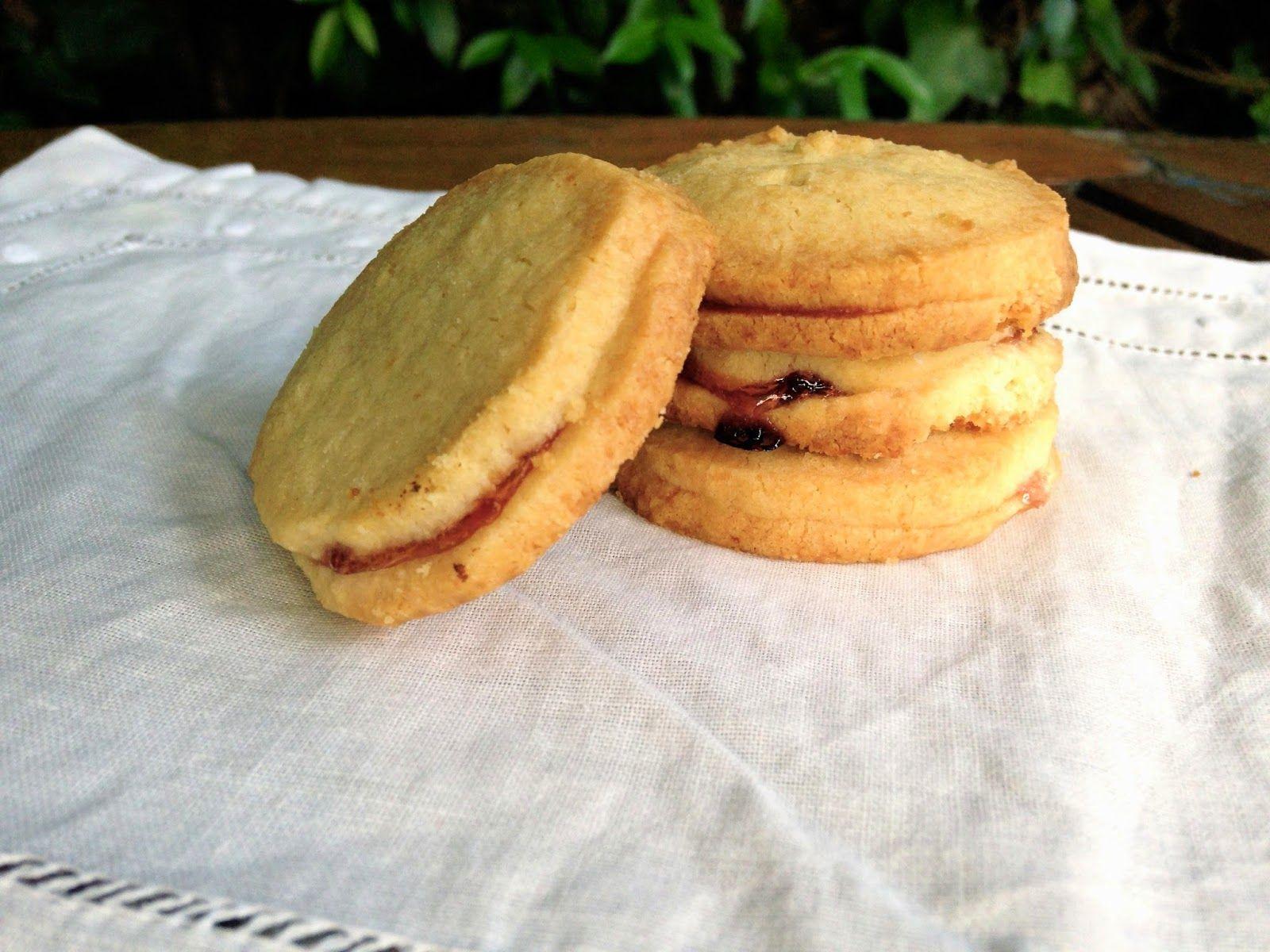 Delipapel: Receta galletas de mantequilla con mermelada