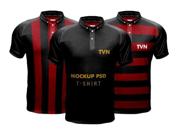 Download Free Men's Sports T-shirt PSD Mockup | Shirt mockup ...