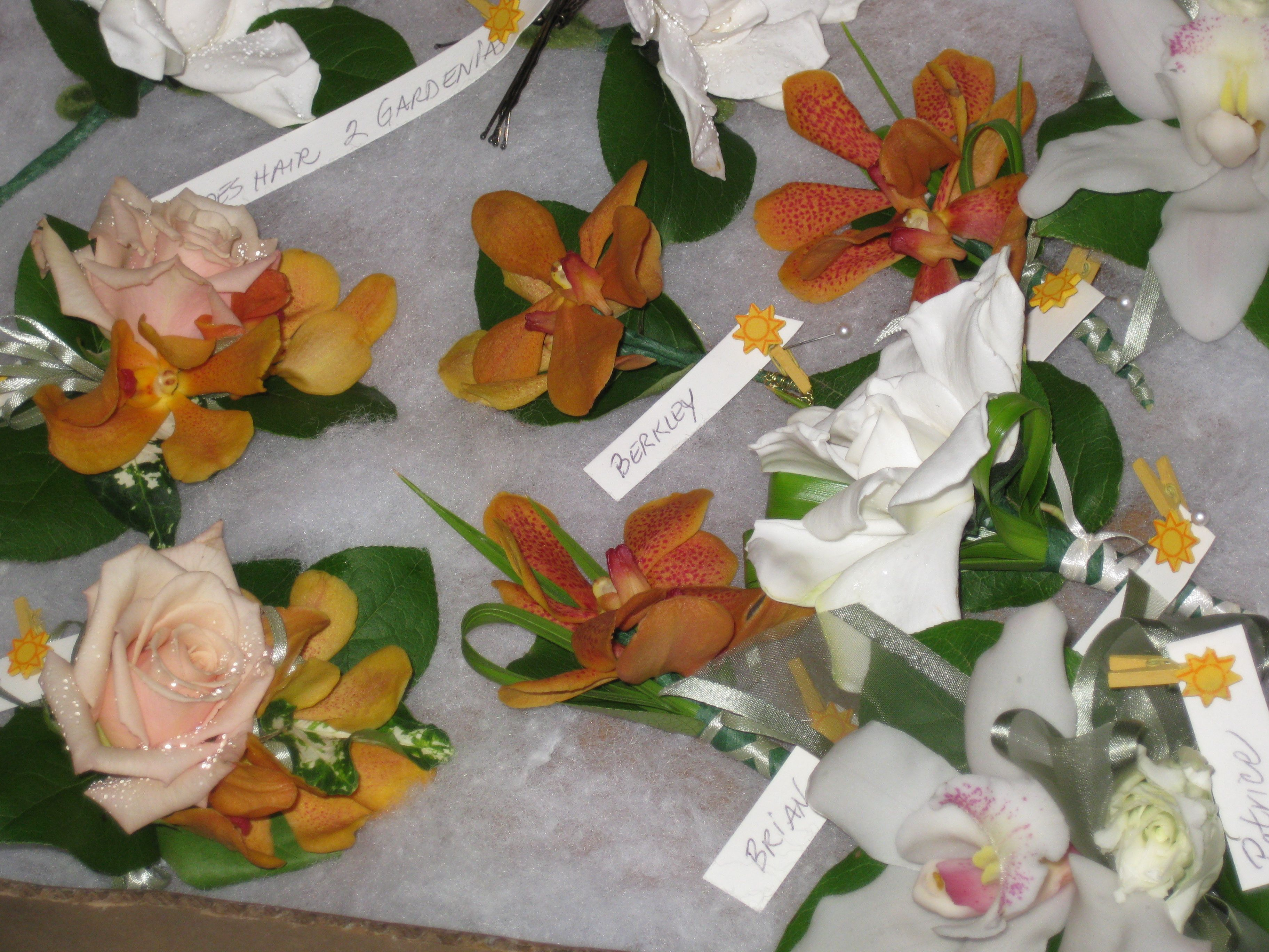 Corsages Dont Have To Be Giant Orchid Corsages Wrist Flowers