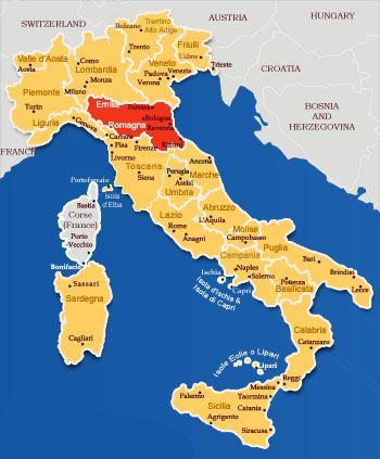 Going To The Emilia Romagna Region In Italy Ece Pinterest