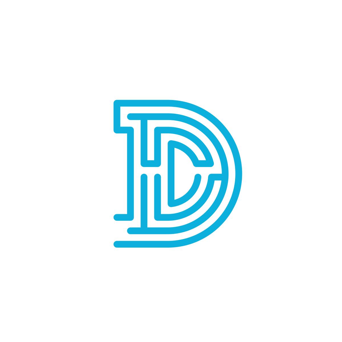 Daedalus Logo United States Letter D Letter Logo Logos