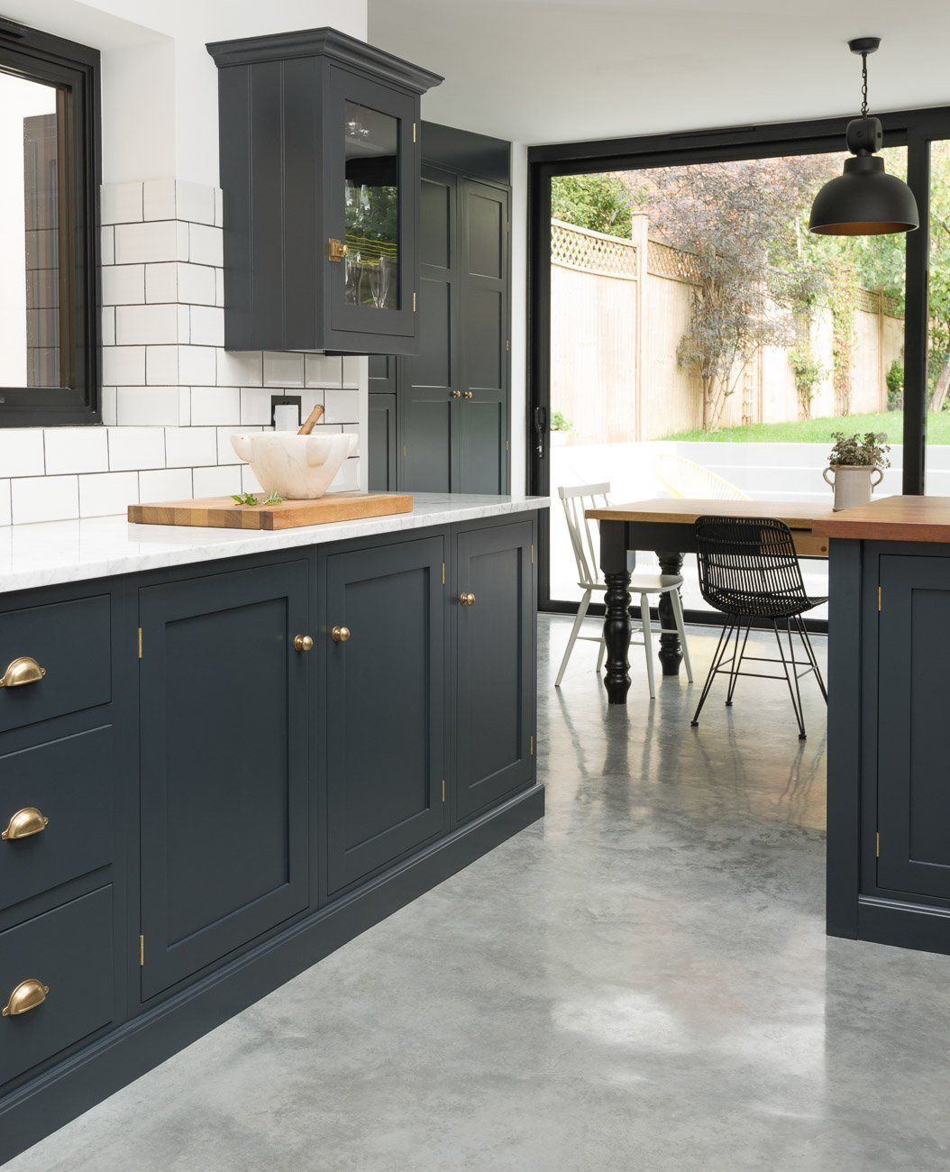Kitchens Floor East Dulwich Kitchen Devol Kitchens Home Kitchen Pinterest