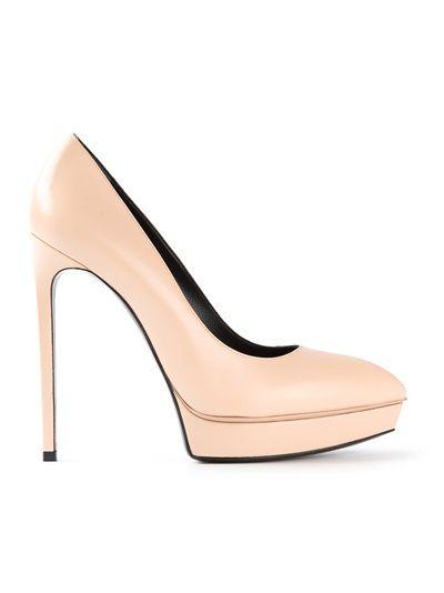 SAINT LAURENT Sapato Nude