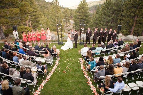 Nevada Rustic Wedding Andrea Anthony Outdoor Weddings