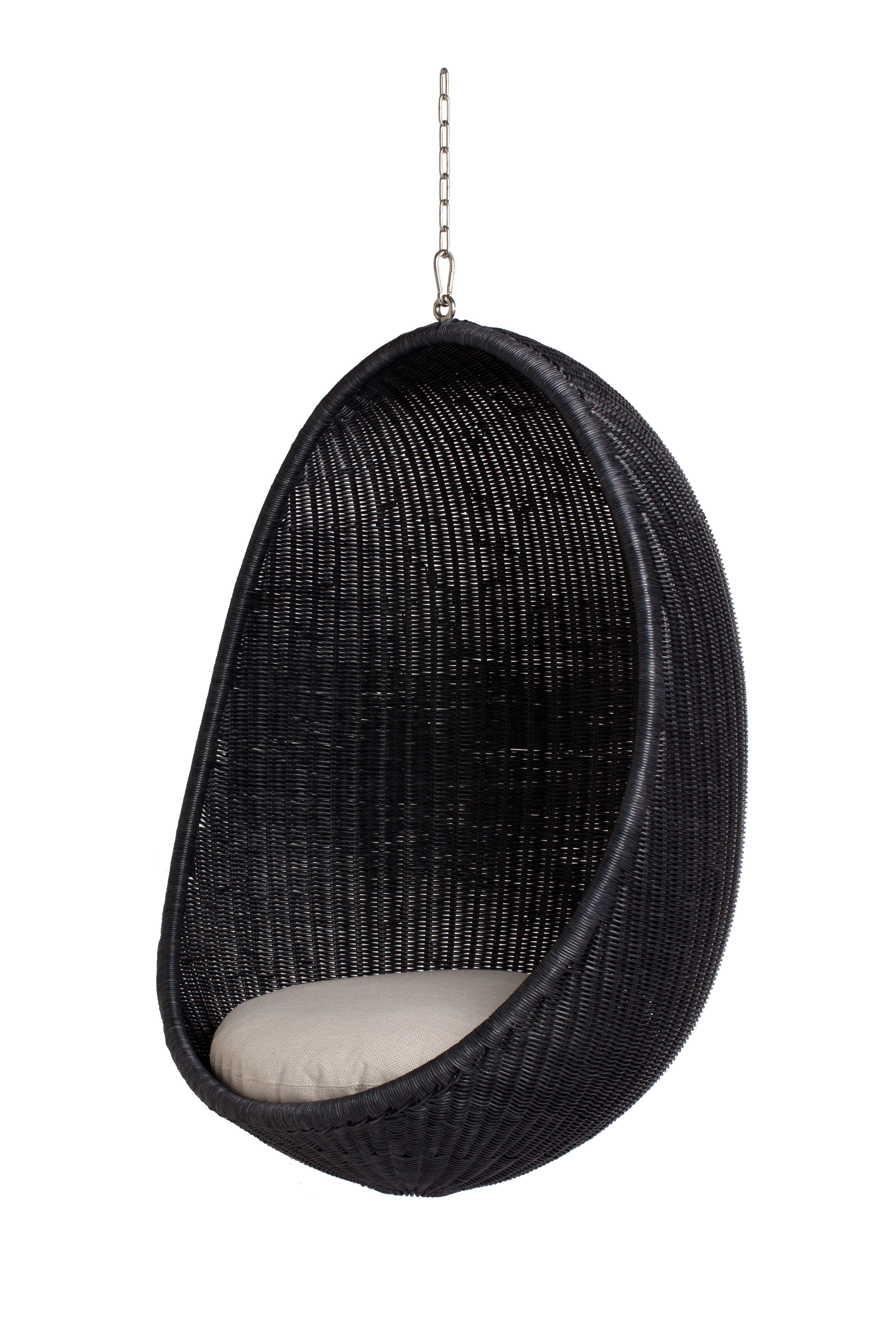 Hanging Egg Hængestol Rattan Matsort i 2020 Stole