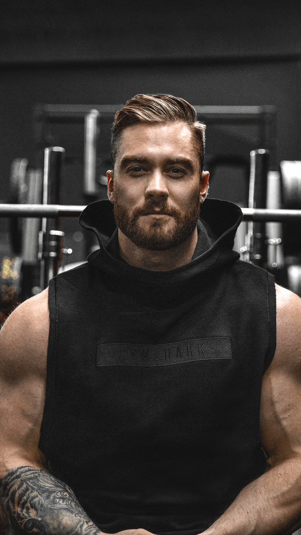 Gymshark Crucial Drop Arm Hoodie - Black : The Crucial range is an authentic workout look for the gy...