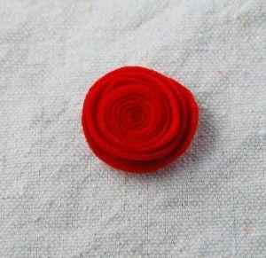 felt flower tute