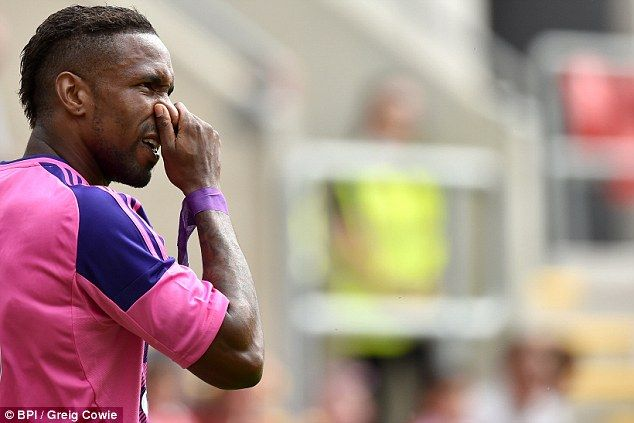 Sunderland missing a recognised frontman with Jermain Defoe set to sit out rest of pre-season