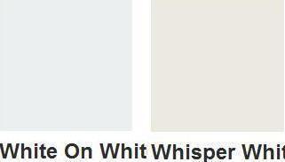 Luxury Whisper White Paint Colour