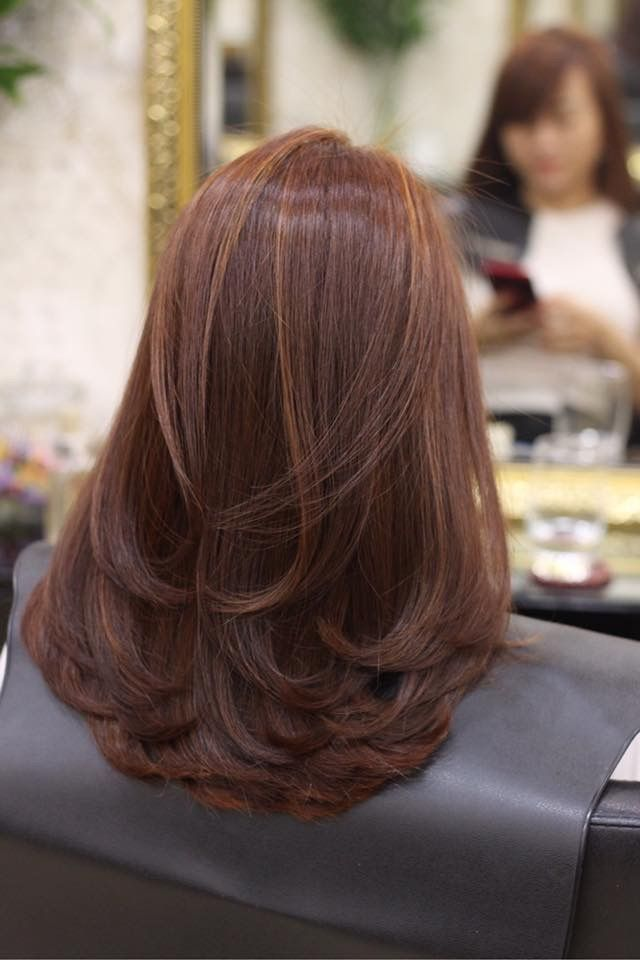 30+ Corte de pelo en capas largas ideas