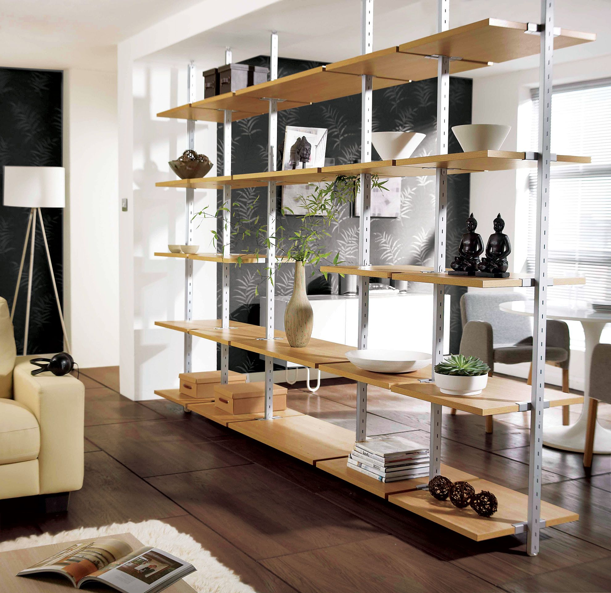Shelving Unit To Divide Room Height From 2110mm To 2700mm Click The Image To Enlarge Flex Room Bedroom Design Wardrobe Furniture