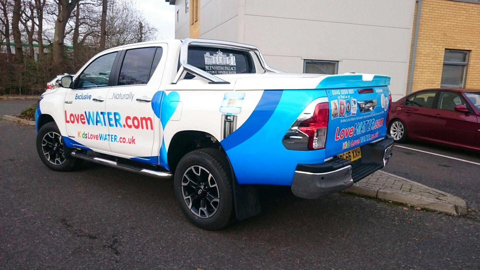Love Water Truck backside!