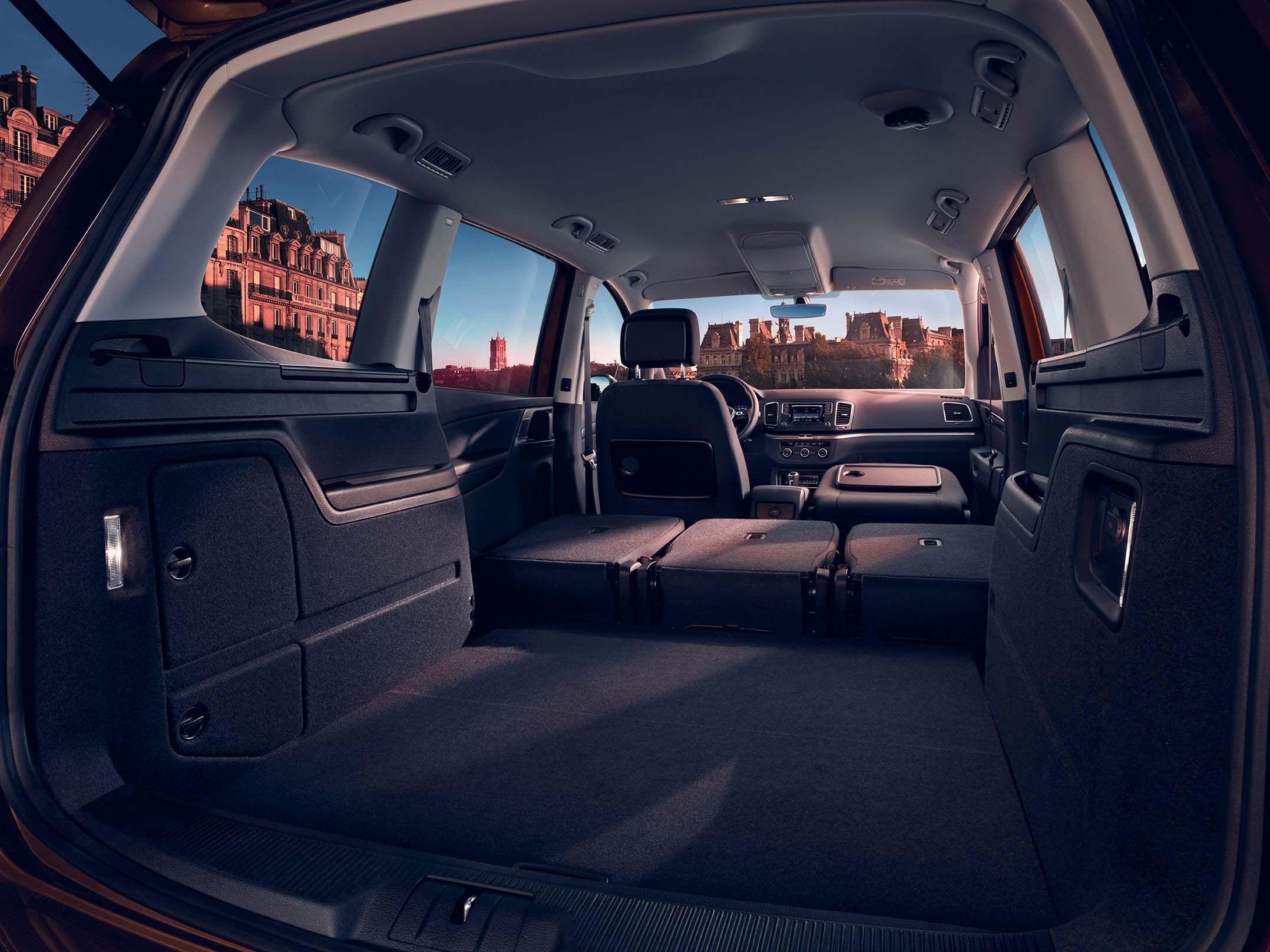 Volkswagen Sharan Allstar coffre