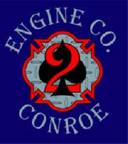 Conroe Fire Department - Station 2 Logo