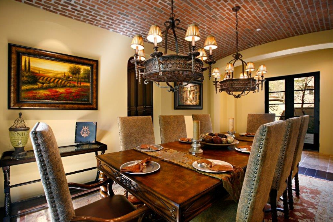 Found On Bing From Gooosen Com Tuscan Dining Rooms Tuscan Style Dining Room Design
