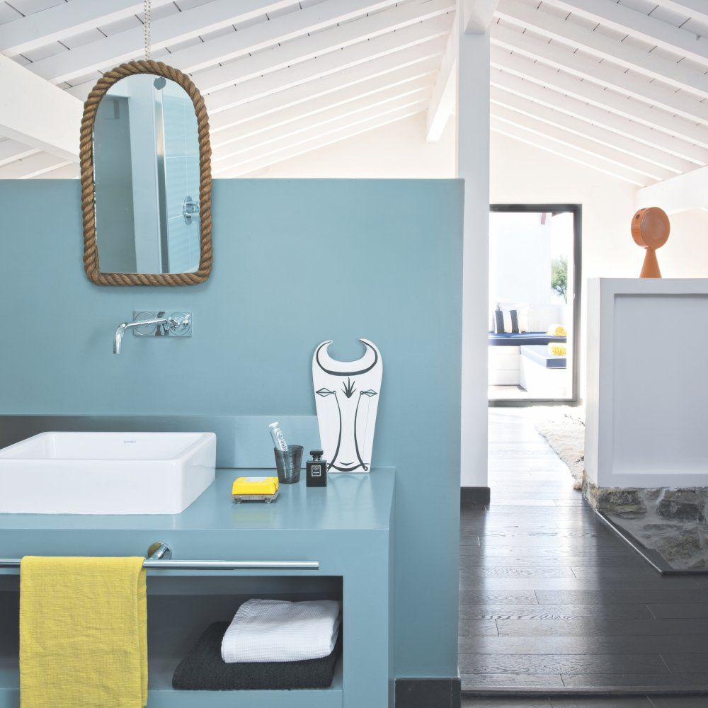 Peindre Sa Salle De Bain quelle couleur de peinture pour une salle de bains