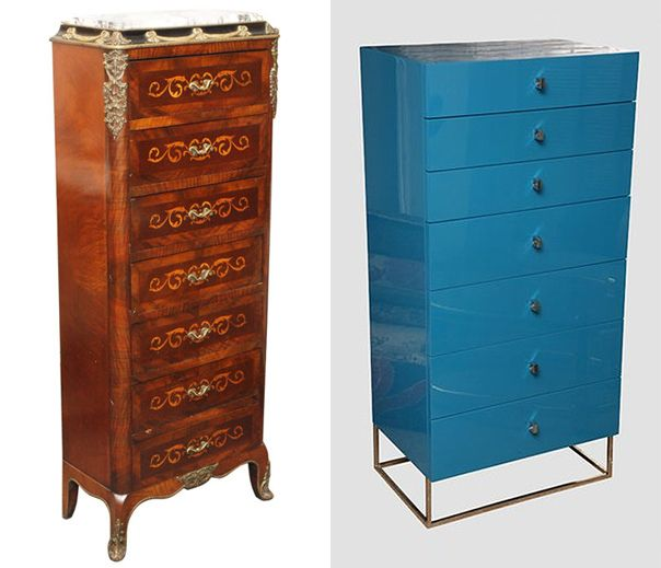 Captivating Semainier: Is A Tall, Narrow Chest With Seven Drawers U2013 One Drawer For Each  Day Of The Week {read More. Amazing Pictures
