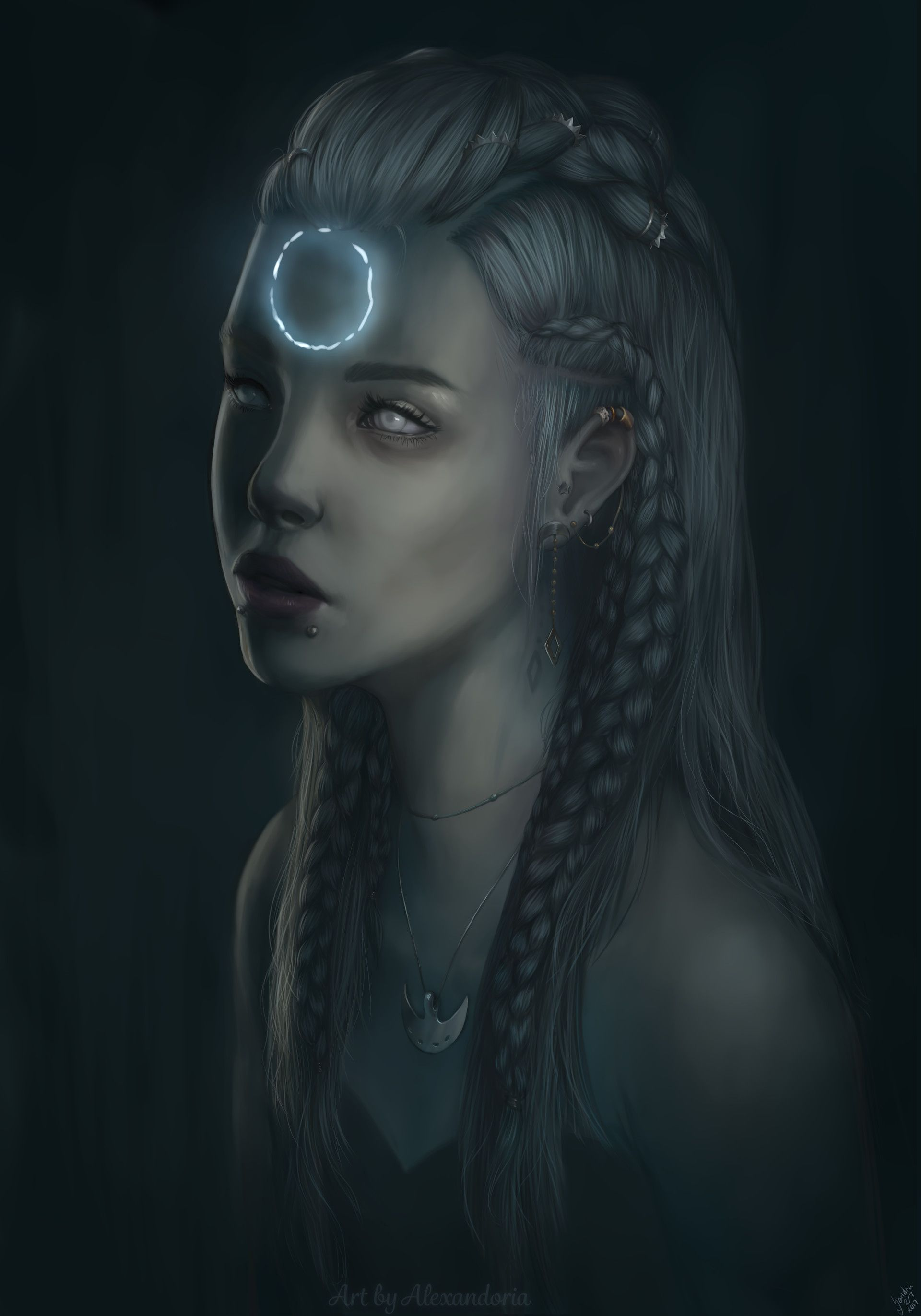 Artstation - Forgetting Sandra Hansen Throne Of Glass Forget Characters And Rpg