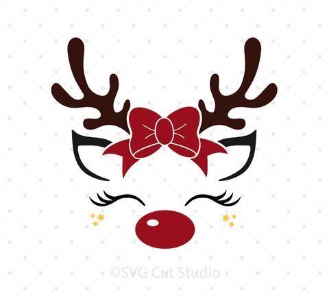 Photo of Reindeer with Elf Hat Svg Files – #Elf #Hat #with #png #Reindeer #SVGfiles