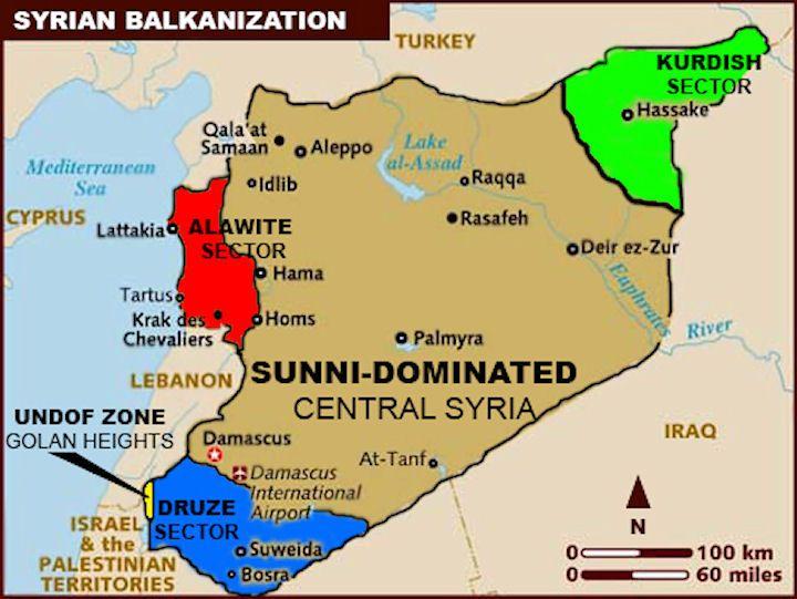 Gli Arcani Supremi (Vox clamantis in deserto - Gothian): Sconfinamento della guerra civile siriana in Libano