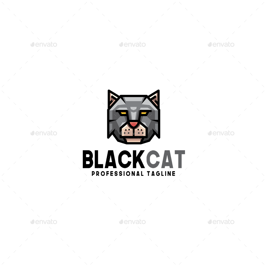 Black Cat Logo Ad Black Ad Cat Logo Cat Logo Black Cat Logos