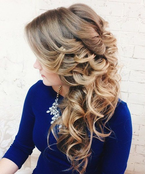 Wedding Hairstyles For Long Hair 40 Gorgeous Wedding Hairstyles For Long Hair  Pinterest  Curly