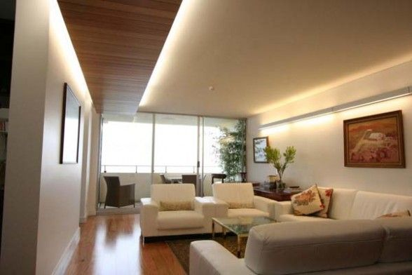 Concealed Lighting Apartment Interior