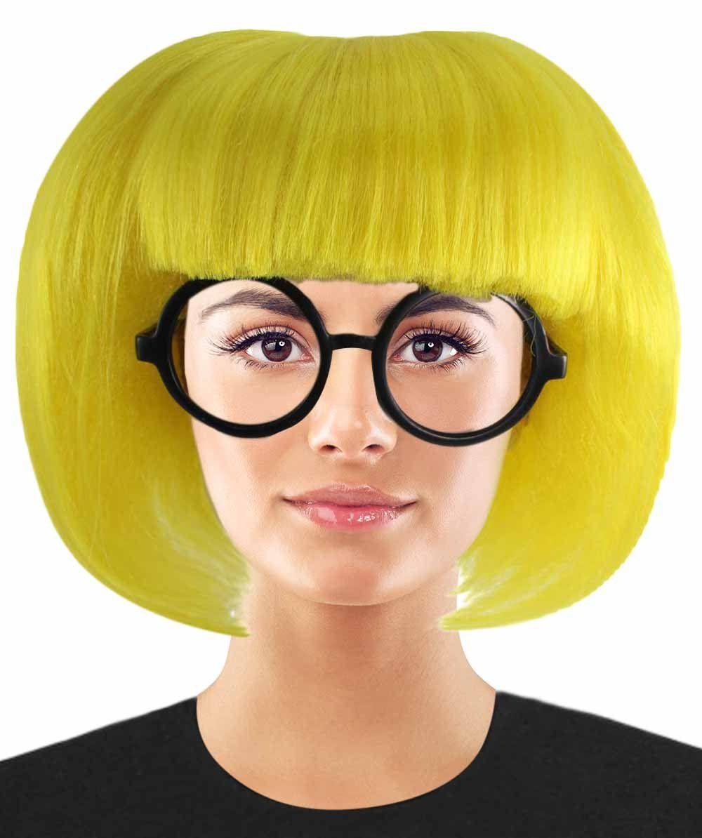Incredible 2 Fashion Designer Edna Mode Wig Edna Mode Wig With Glasses Set Tv Movie Wigs Premium Breathable Capless Cap Fashion Design Fashion The Incredibles