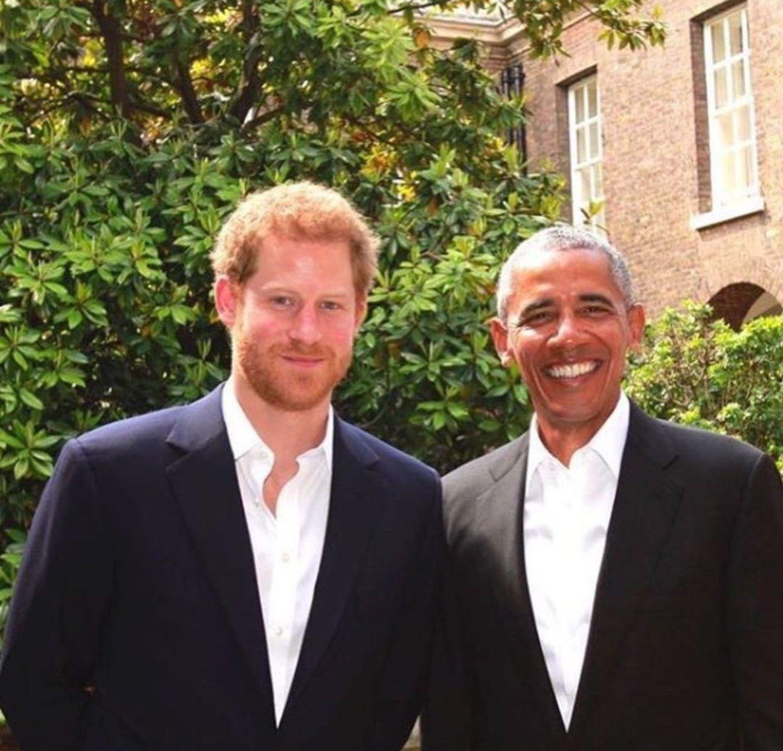 Prince Harry Hosted POTUS Barack Obama At Kensington