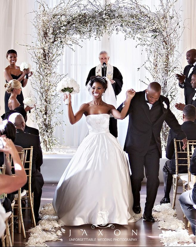 Atlanta Real Wedding At The Biltmore Takila Chris African American Black Bride Groom Love L Ve
