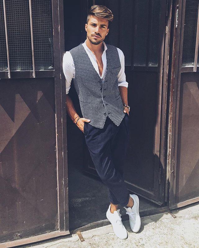 стили одежды для мужчин в клубе
