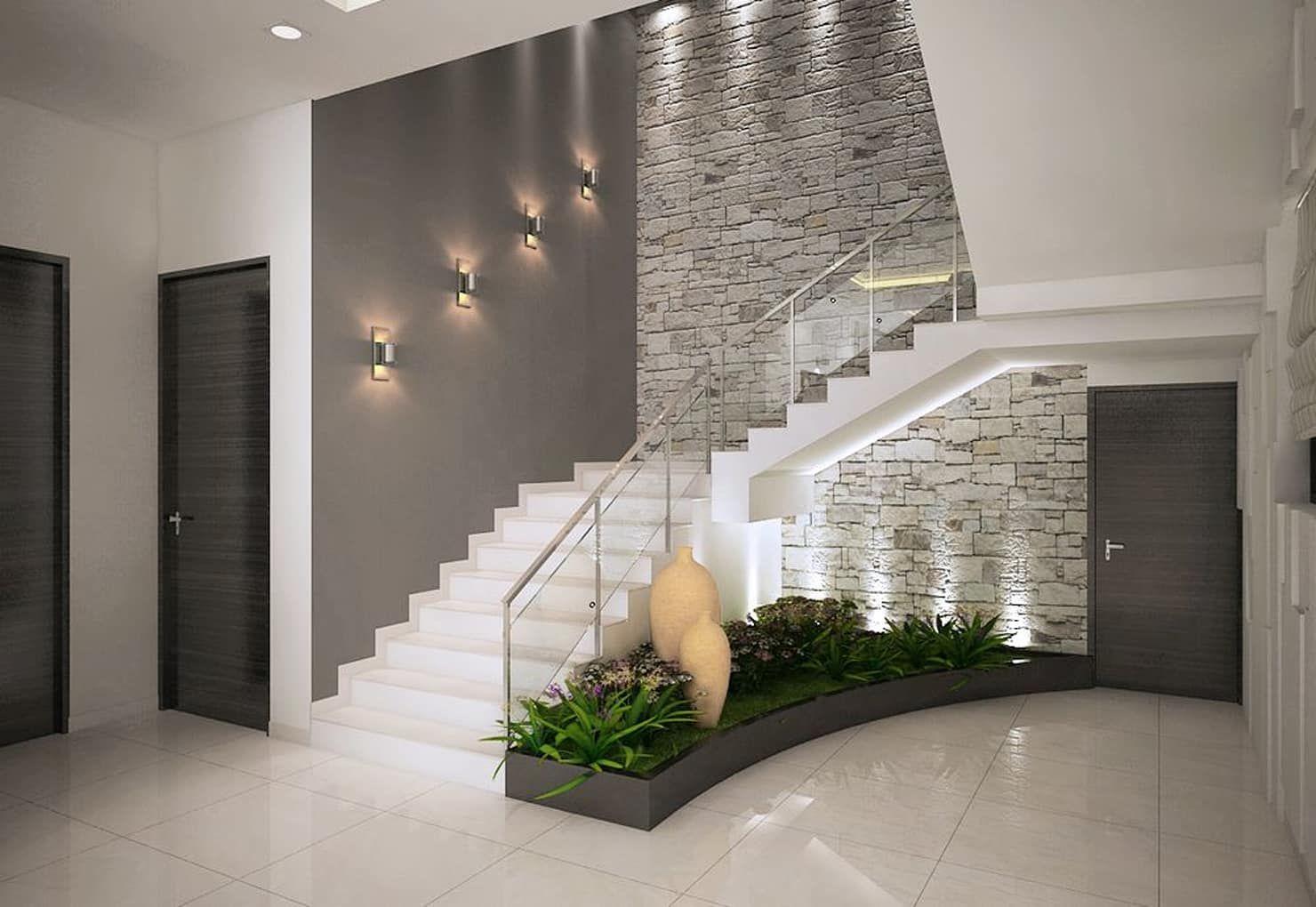 Pasillos y vest bulos de estilo de ace interiors casas for Interiores de casas modernas