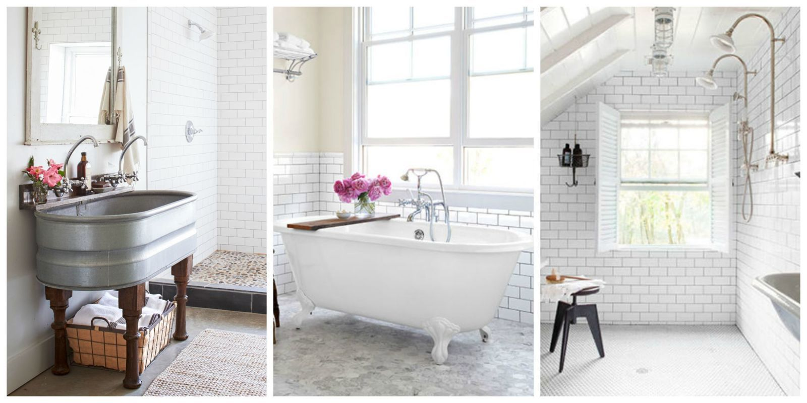 9 New Ways to Arrange Subway Tile in Your Bathroom | Subway tiles ...