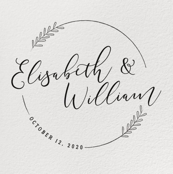WEDDING STAMP, Rubber Wedding Stamp, Personalized Wedding Stamp, Custom Wedding Stamp, Diy Wedding, Wedding Card, Wedding Invitation #rubberstamping
