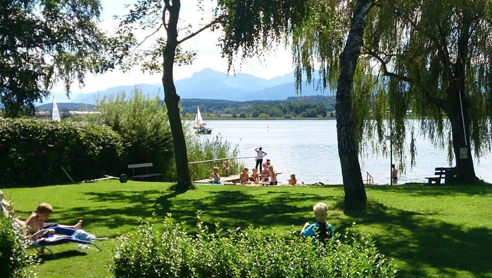 Campingplatz Stadler Am Waginger See Camping Zwischen Chiemsee