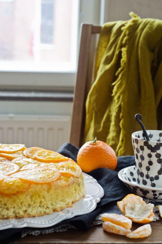 tarta de naranja e almendras