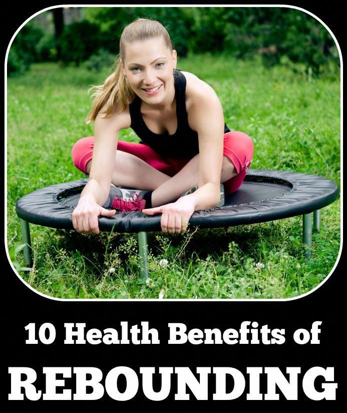 There are many health benefits of rebounding. Not only is it fun but it's very beneficial to the lym...