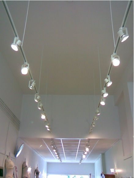 Amusing Track Lighting On Drop Ceiling 76 About Remodel Temporary ...