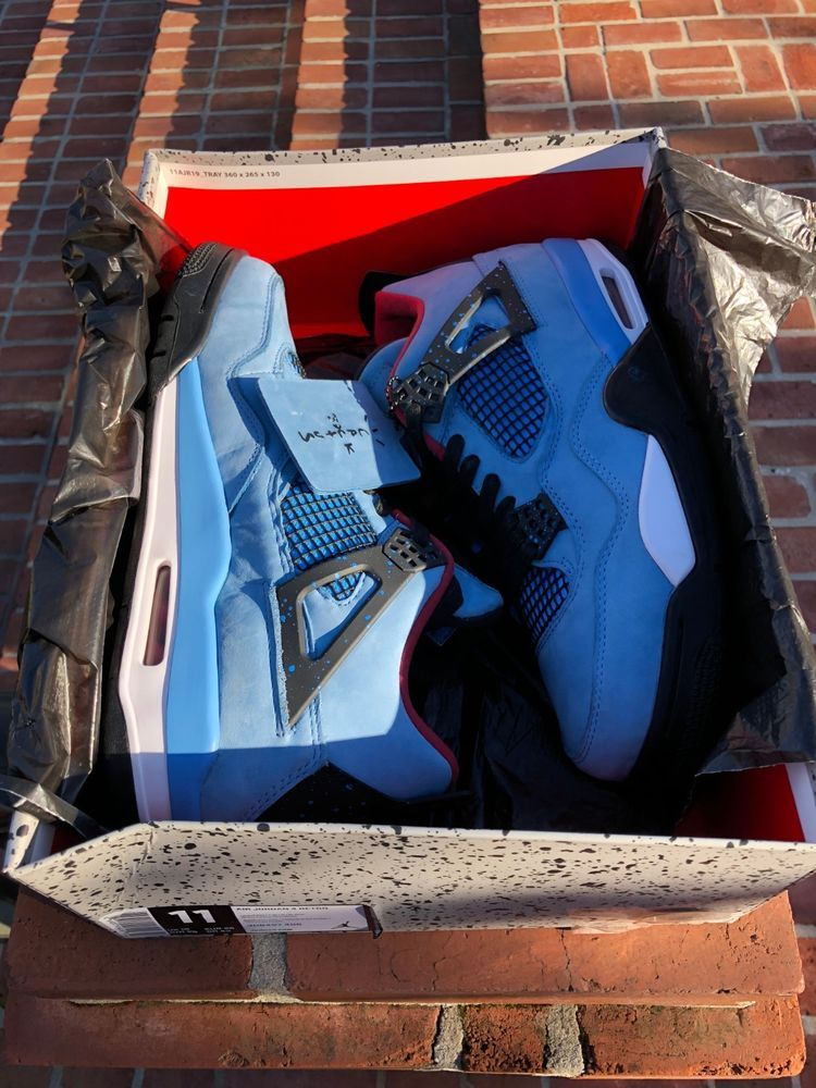 a301cd6070b Air Jordan 4 Retro Travis Scott Cactus Jack 308497-406 size 11 DS Free  Shipping #fashion #clothing #shoes #accessories #mensshoes #athleticshoes ( ebay link)